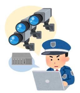 防犯カメラは運用管理が肝要