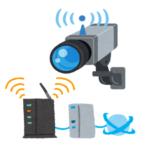 防犯カメラとWi-Fi