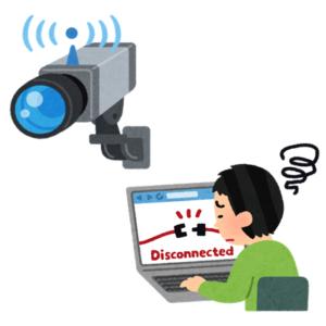 Wi-Fi環境の不調?つながらない防犯カメラ