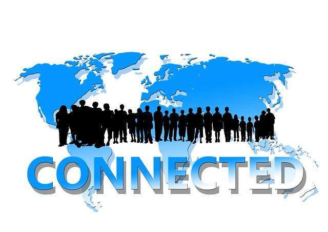 VPNにより、拠点の人と人がつながった状態になる
