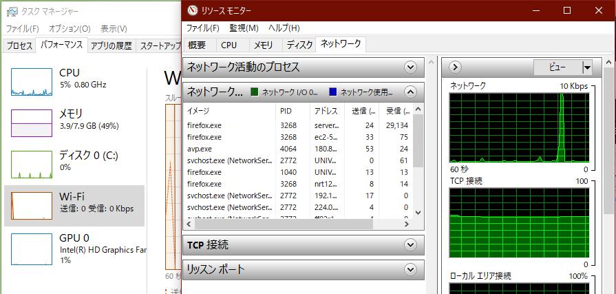 実測テスト、ファイル転送