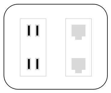 各部屋に情報コンセントがあればLANの増設が容易